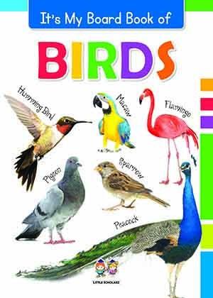 It's My Big Board Book of BIRDS