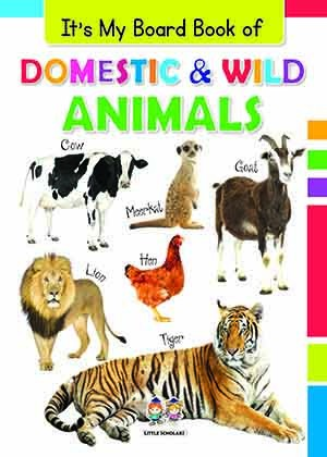 It's My Big Board Book of ANIMALS