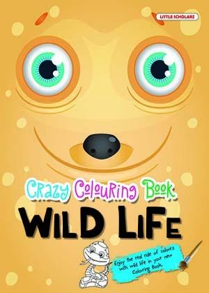 Crazy Colouring Book—Wild Life