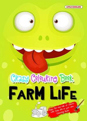 Crazy Colouring Book—Farm Life