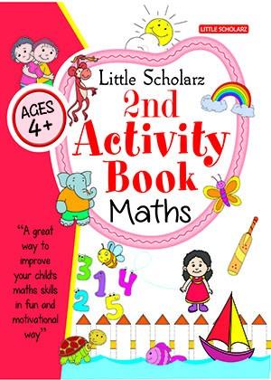 Little Scholarz 2nd Activity Book Maths