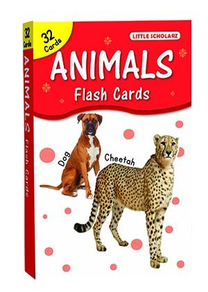 Big Flash Cards Animals