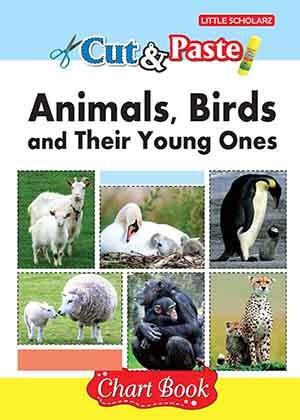 Cut & Paste - Animals,Birds & Young Ones