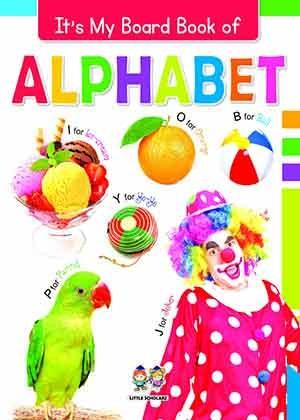 It's My Big Board Book of ALPHABET