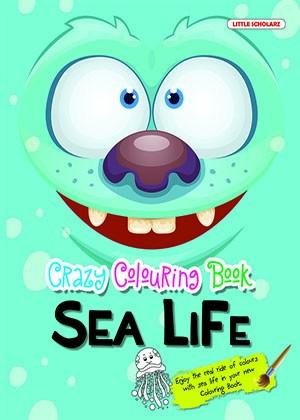 Crazy Colouring Book—Sea Life