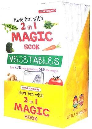 Have Fun with 2 in 1 MAGIC BOOK Set