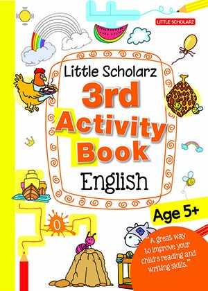 Little Scholarz 3rd Activity Book English