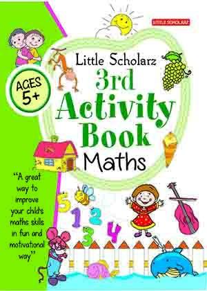 Little Scholarz 3rd Activity Book Maths