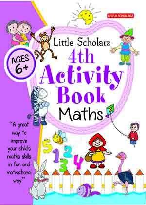 Little Scholarz 4th Activity Book Maths