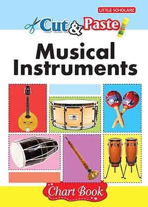 Cut & Paste - Musical Instruments